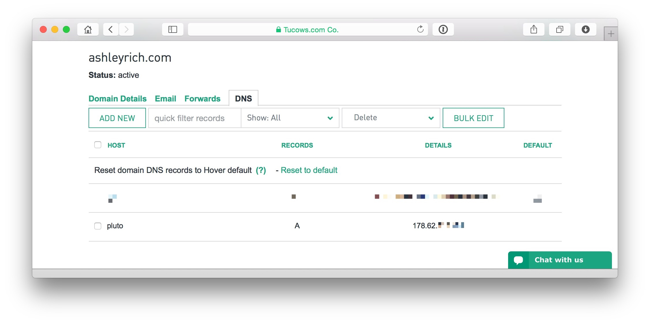Hostname - Image DNS