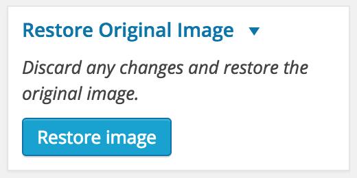 Restore Original Image