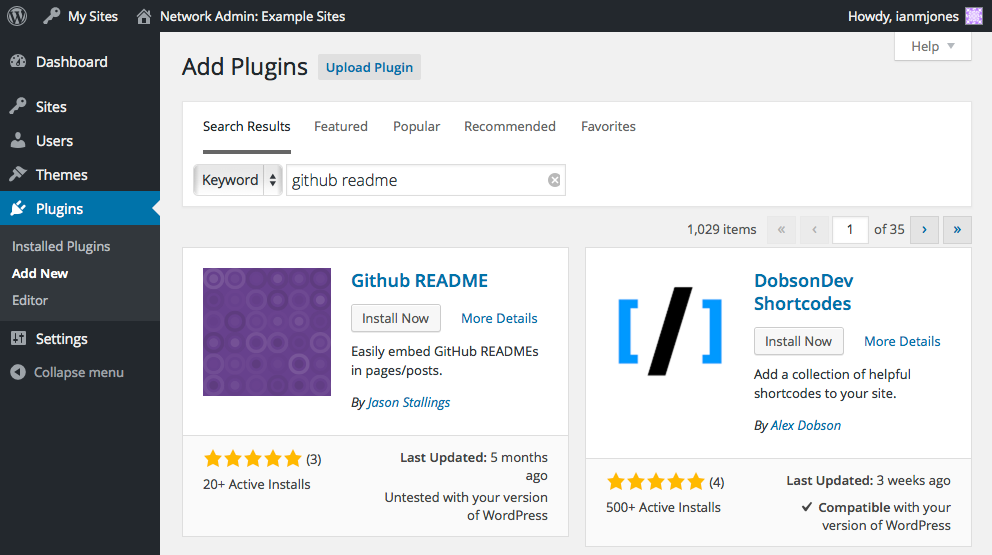 GitHub README - Add Plugins