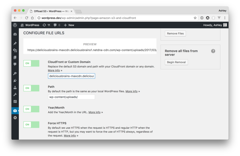 How to Setup MaxCDN with Amazon S3 and WordPress - 웹