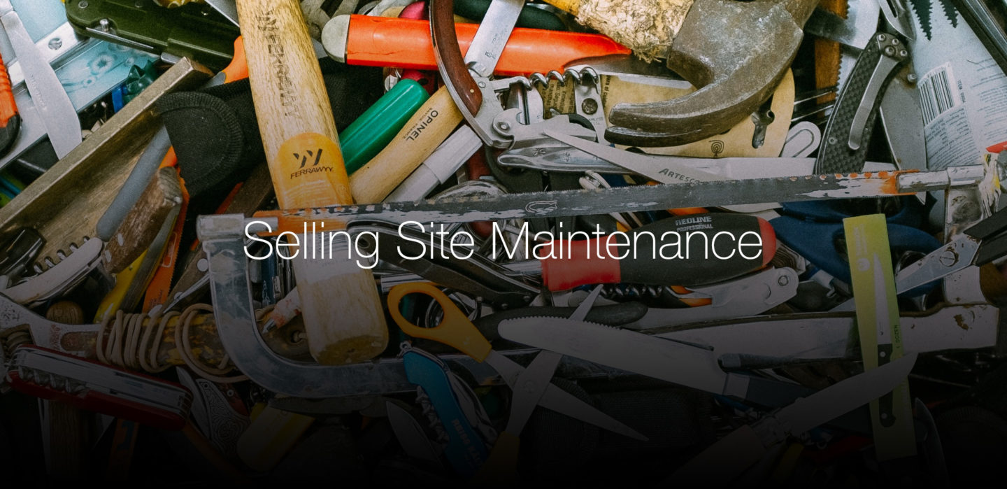 selling-site-maintenance