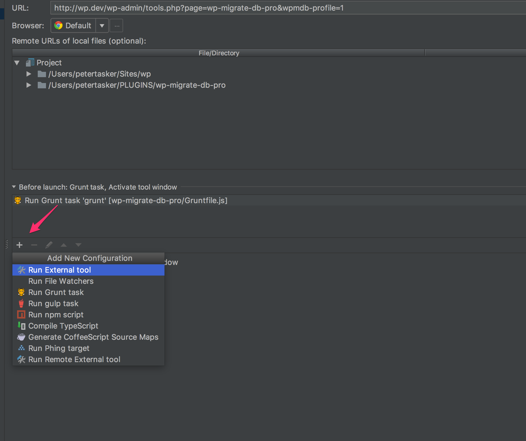 Debugging JavaScript and PHP at the same time with PhpStorm