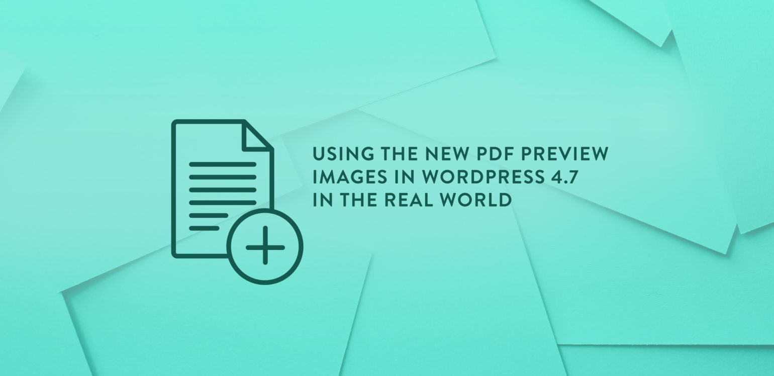 Wordpress Post As Pdf