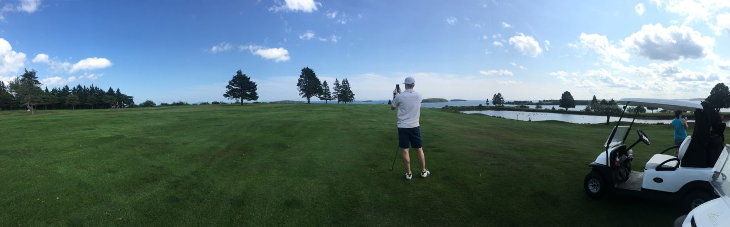 Nova Scotia golf views