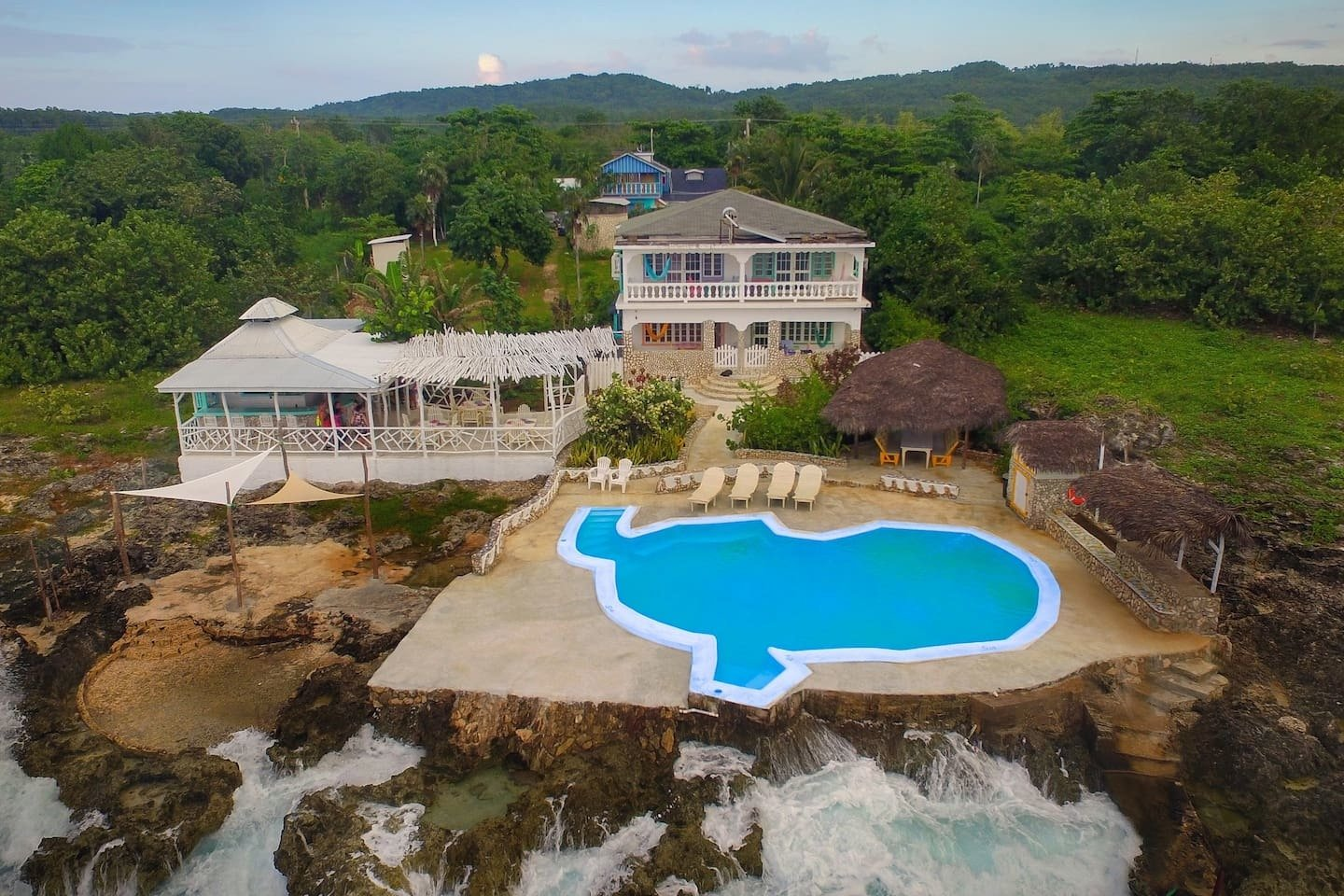 Somewhere West villa in Negril, Jamaica