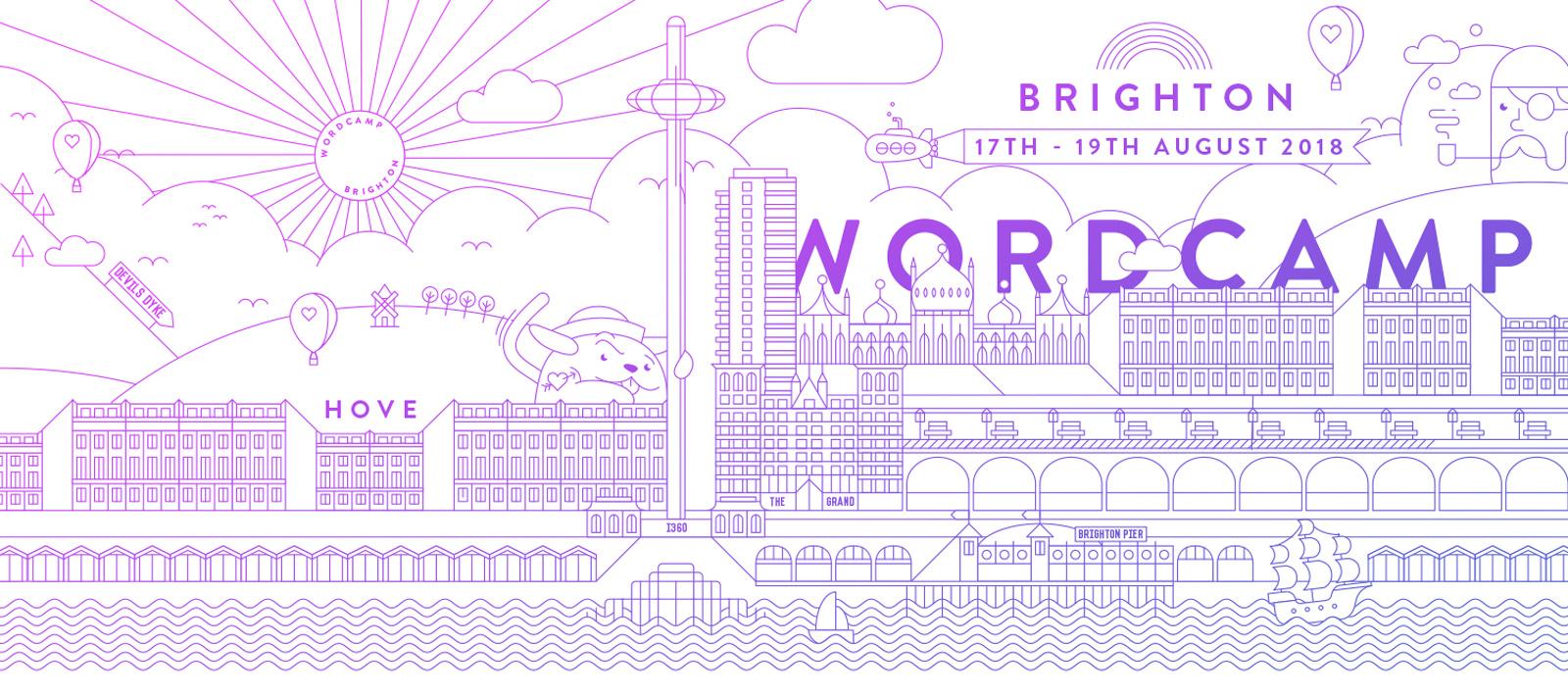 WordCamp Brighton header