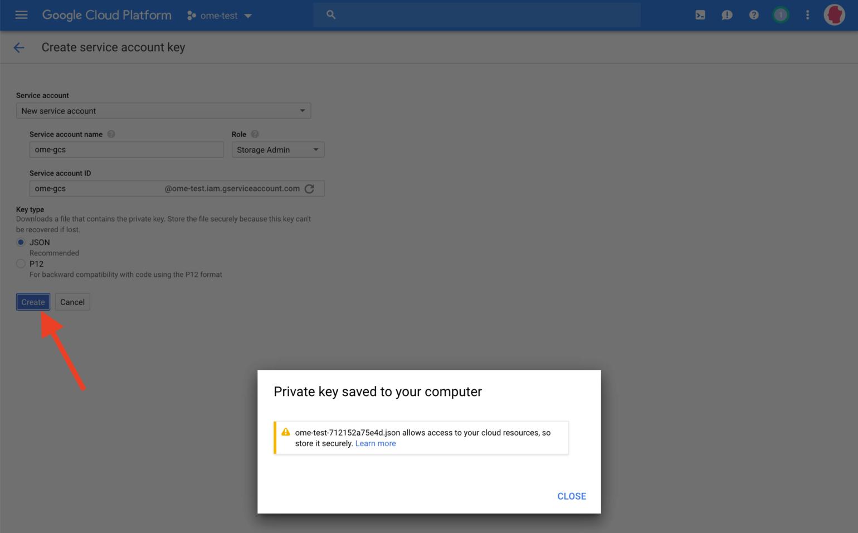 Google Cloud Storage Quick Start Guide
