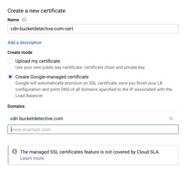 How to Set Up a Custom Domain CDN for Google Cloud Storage