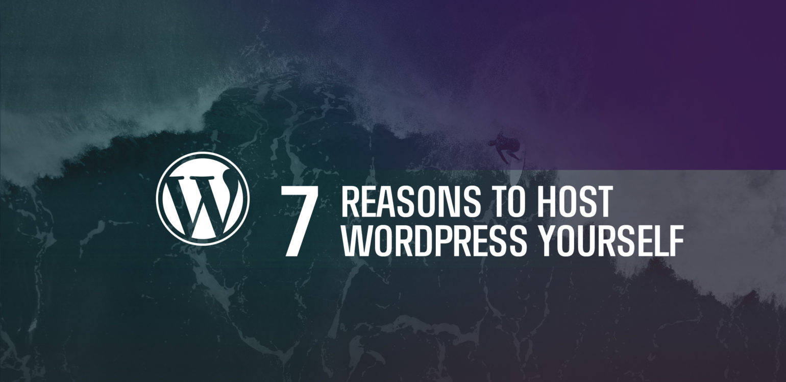 7 Reasons to Host WordPress Yourself