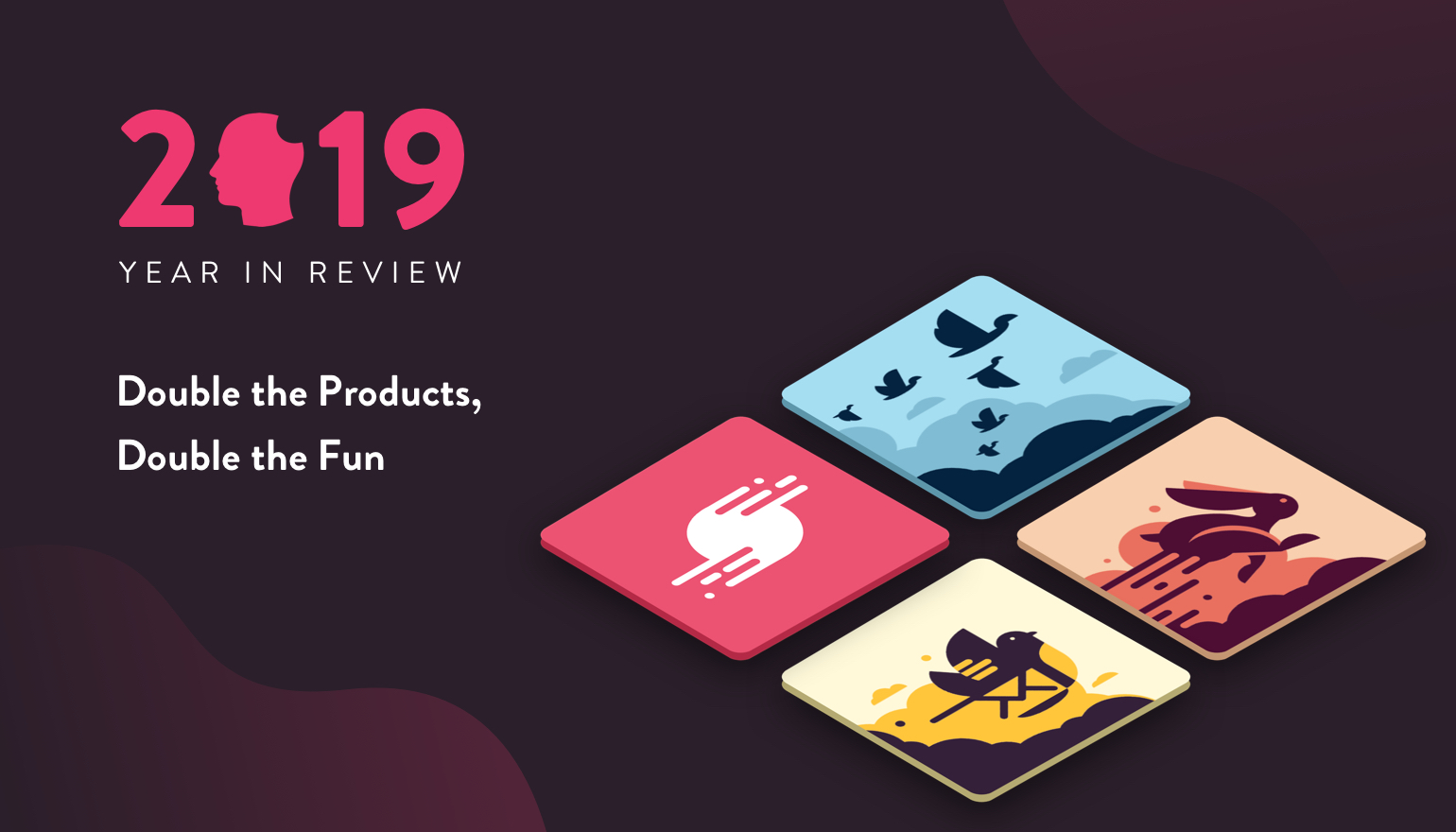 2019 Year in Review - Double the Products, Double the Fun