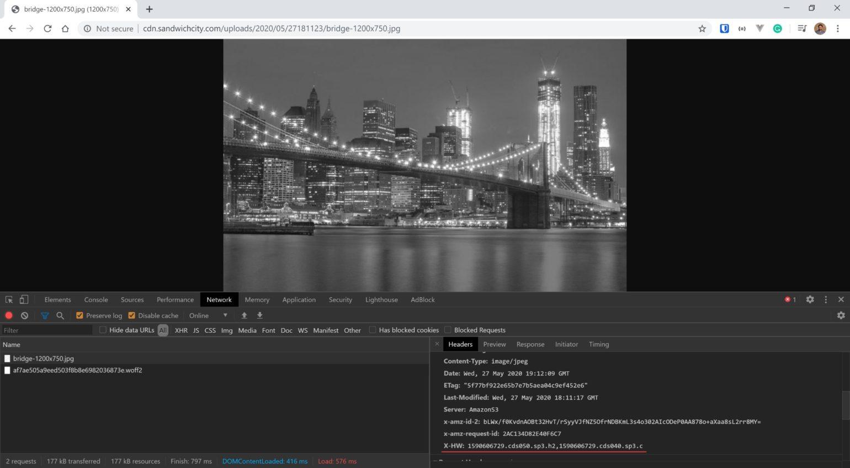 StackPath setup - Response header