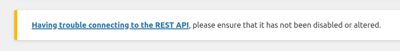 REST API Notification