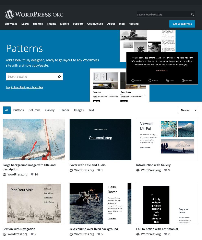 TheBlock Pattern Directory